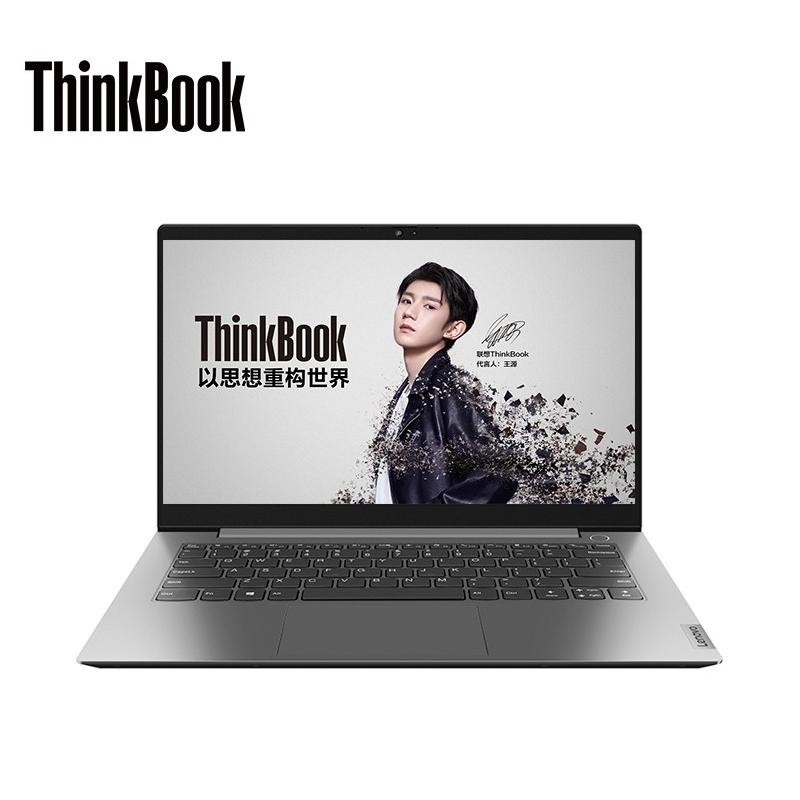 联想 ThinkBook14-08CD 笔记本 i7-1165G7/16G/512G/MX450-2G/14.1寸/银